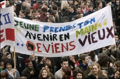 CPE : le mur CPE_Bordeaux_vieux_AFP