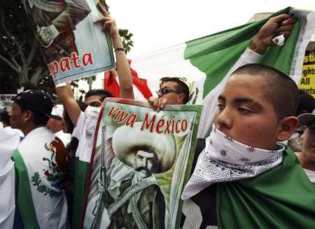 Marée humaine à Los Angeles contre une loi sur l'immigration Los_Angeles2