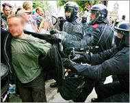 G8 : Etat policier à Edimbourg Arrest-2