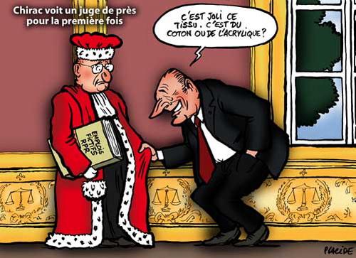 La corruption, gangrène de la démocratie - Page 2 Chirac-juges