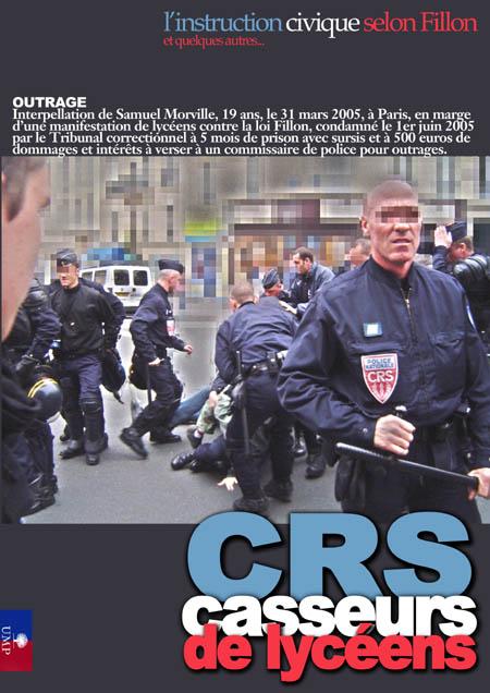 CRS, casseurs de lycéens Crs450-2