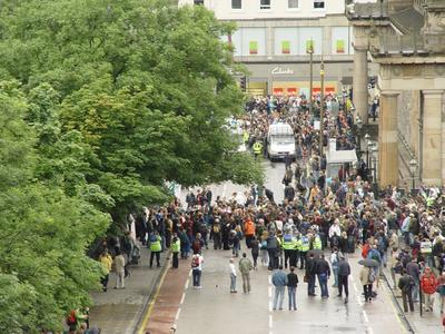 G8 : Etat policier à Edimbourg Dsc02047