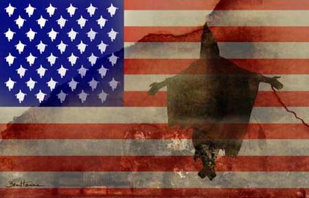 Guantanamo, Irak, Afghanistan... démocrature occidentale Flagusaty9