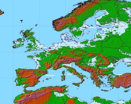 Changement climatique et civilisation Europe100-ea7b6